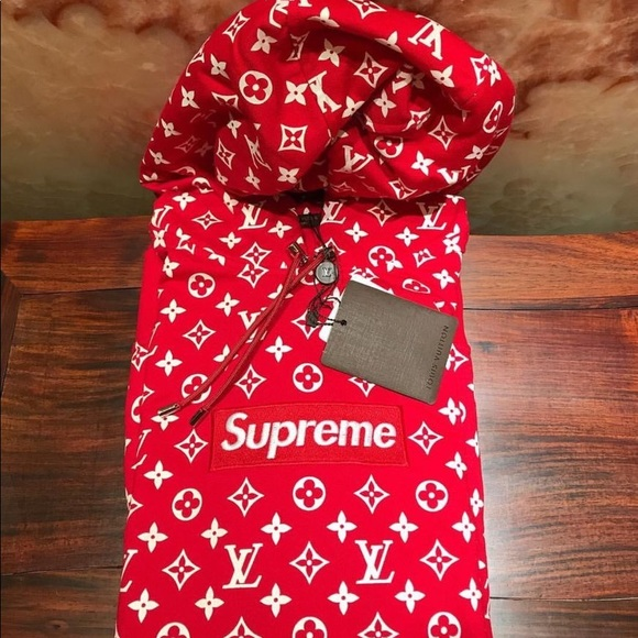 80ac05fd Louis Vuitton Other | Supreme X Hoodie | Poshmark
